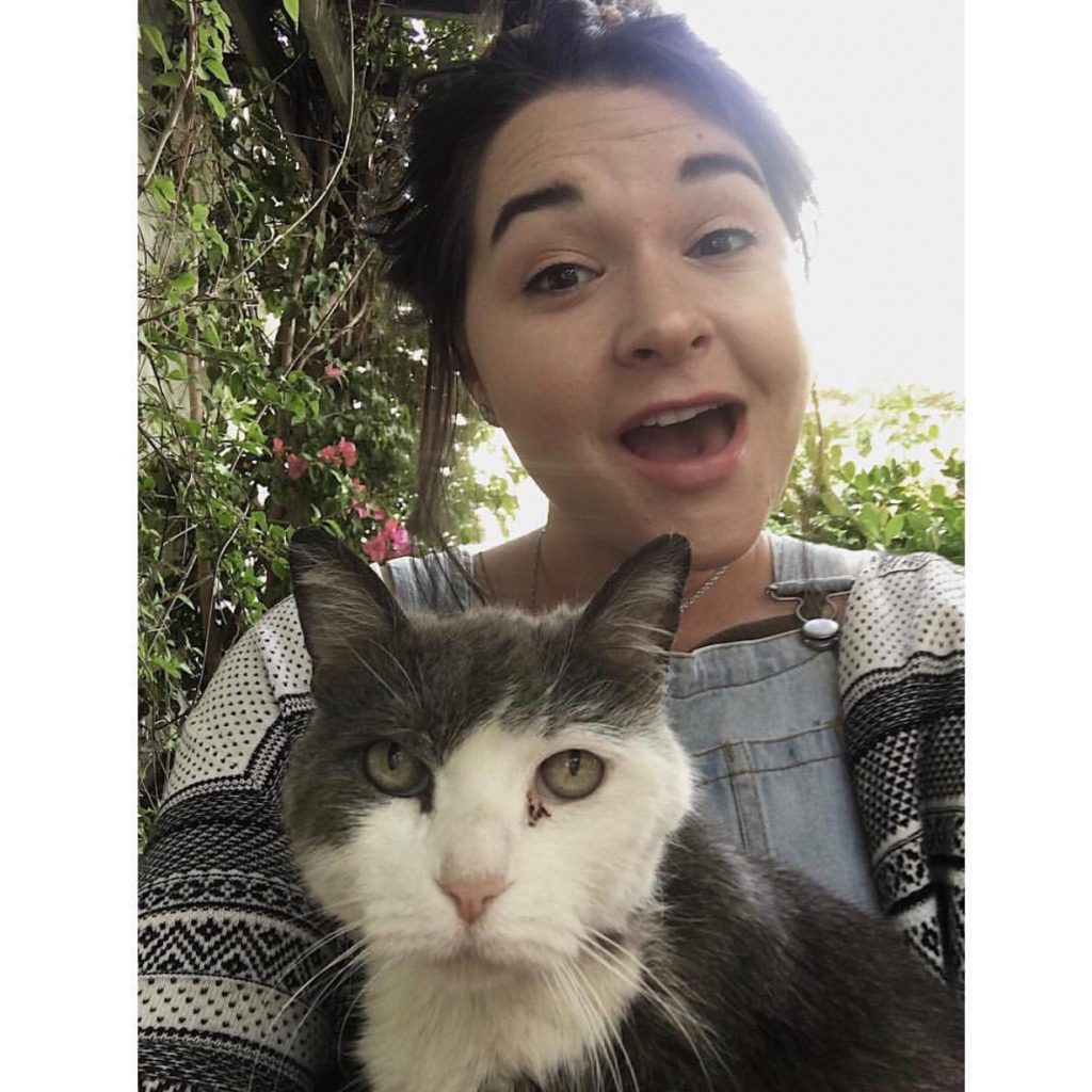 local south bay area cat sitter Sarah S.