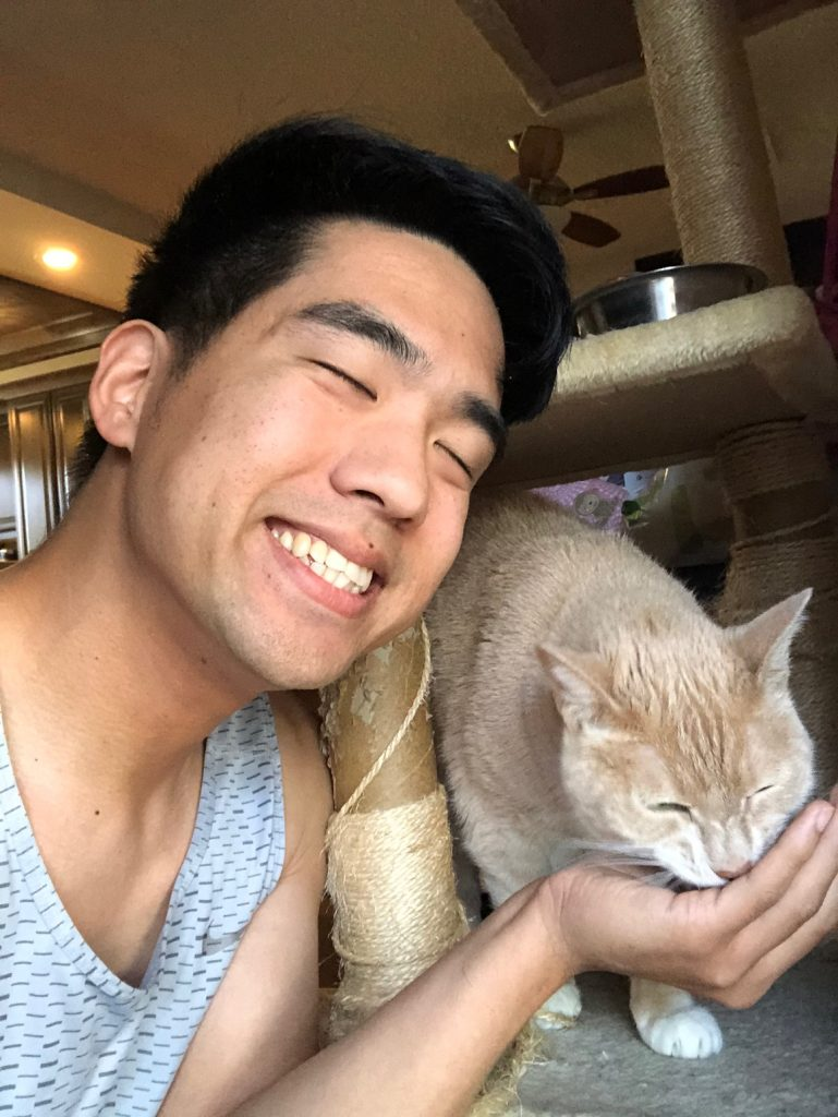Garrett is one of our local Sacramento cat sitters